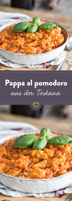 Mit Brot, Olivenöl, frischen Tomaten und frischen Kräutern kannst du dir ganz schnell eine köstliche Suppe zaubern und dir die Toskana nach Hause holen.