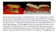 ANDY's burger recipe