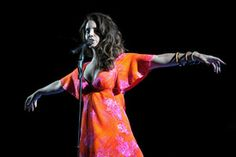 Lana Del Rey performs onstage during day 3 of the 2014 Coachella Valley Music & Arts Festival at the Empire Polo Club on April 13, 2014 in Indio, California.   Source: Getty Editorial  Coachella 2014: Weekend One - via MyDaily