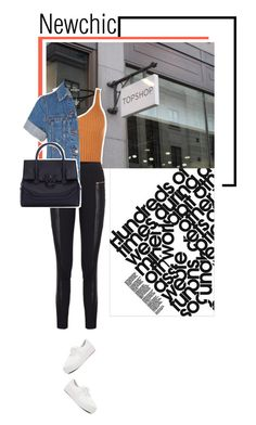 """Newchic"" by s-thinks on Polyvore featuring Karl Lagerfeld, Miss Selfridge, Madewell and Versace"