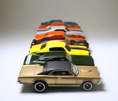 Miniaturas Muscle Car e as marcas