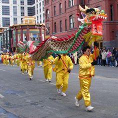 Chinese New Year Parade, Chinatown, Washington DC