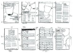 Recipe Book Design, Page Layout, Layouts, Magazine Layout Design, High School Art, Page Design, Bullet Journal, Graphic Design, Magazine Covers