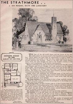 The Strathmore 1936 Sears Roebuck Modern Homes