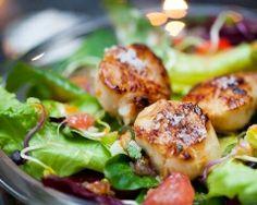 Saint-Jacques grillées aux agrumes et à la fleur de sel (facile, rapide) - Une recette CuisineAZ