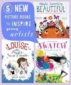 The newest books from 2016 that will inspire kids to paint, doodle, glue… Art Activities For Kids, Preschool Art, Book Activities, Art For Kids, Preschool Painting, Kid Art, Books For Boys, I Love Books, Childrens Books