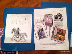 Tales from the Circle C Ranch lapbook and book review!