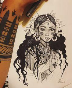 Traditional Filipino Tattoo, Traditional Tattoo Flowers, Filipino Art, Filipino Culture, Tribal Back Tattoos, Filipino Tribal Tattoos, Tribal Tattoos For Women, Tribal Flower Tattoos, Cross Tattoos