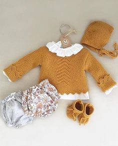 Knitting Patterns Toddler Sweater Girls 32 Ideas For 2019 Baby Knitting Patterns, Knitting For Kids, Baby Sweaters, Girls Sweaters, Pull Bebe, Toddler Sweater, Bebe Baby, Baby Fashionista, Baby Kind