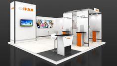 Exhibition stands 20 40 m2 - Exhibition stand Design 10