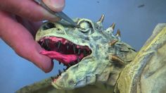 Game of Thrones Baby Dragons and Paper Mache