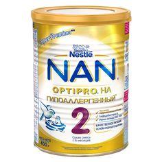 NAN® (НАН) Optipro Гипоаллергенный 2 сухая адаптированная гипоаллергенная смесь с бифидобактериями для детей с 6 месяцев, 400 г. Страна-производитель: Германия.  Знаете ли Вы, что белок определяет здоровье Вашего ребенка на всю жизнь? Научно доказано, что белок - один из самых важных нутриентов для роста и развития