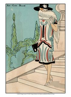 Historical Fashion (Decorative Art) Posters at AllPosters.com