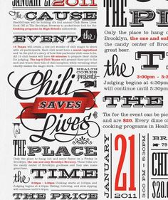 love the typography - great fonts!
