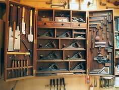 How to construct this hanging tool cabinet? - by ColonelTravis @ LumberJocks.com ~ woodworking community