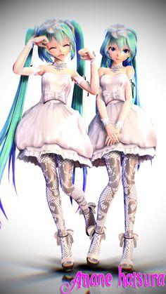 MMD TDA:Wedding Miku V2 Download!! by AmaneHatsura on DeviantArt