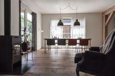 Eetkamer met veel licht Decor, Furniture, Room, Oversized Mirror, Home Decor, Room Divider, Divider, Mirror