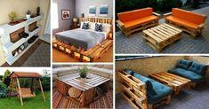 Mobilier din paleti - 27 cele mai NOI IDEI pentru casa si gradina Pallet Furniture Designs, Wood Pallet Furniture, Outdoor Furniture Sets, Outdoor Decor, Diy Wood Pallet, Wood Pallets, Wood Crafts, Easy Diy, Storage