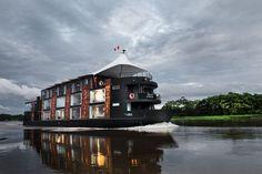 MV Aqua è la barca di lusso solo per navigare lungo il Rio delle Amazzoni. e02ea5640d610