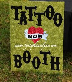 Carnival themed birthday party ideas: Tattoo Booth, Ring Toss, Cake Walk, Hotdogs, Goldfish, Face Paint, Kissing Booth(Hershey Kisses), Guess How Many game, Photo Booth, Cotton Candy, Sno Cones, Root Beer, Corn Cob, Funn