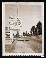 Street signs, Washington State 1960s