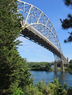 Visit the Sagamore Bridge, Sandwich