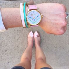 Geneva Vegan Leather Watch Brand new in original packaging Geneva watch. Features pink vegan leather band with adjustable buckle. Face has gold tone rim, hands and dial markers with colorful geometric/tribal print. ❌No trades❌Price firm unless bundled. Geneva Accessories Watches