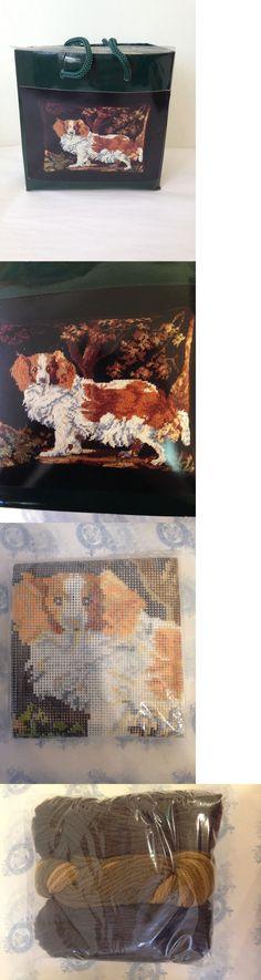 Needlepoint Kits 3109: King Charles Spaniel Needlepoint Kit, Erica Wilson Metropolitan Museum Of Art -> BUY IT NOW ONLY: $67.46 on eBay!