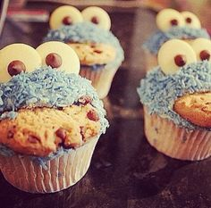#cupcakes #love #cookiemonster #food #cute