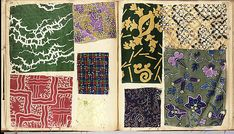 Textile Sample Book | French | The Met