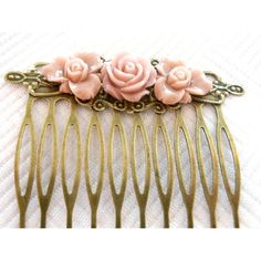 Antique Hair Combs | 00 ONE Beautiful Embellished Antique Hair Comb design G by ...