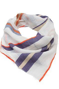13 Spring Scarves That Won't Make You Sweat #refinery29  http://www.refinery29.com/spring-scarves#slide3
