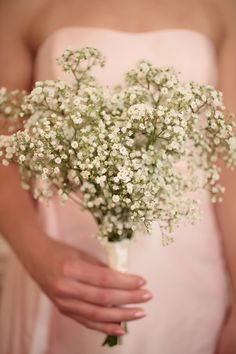 Gypsopholia is beautiful for bridesmaid bouqets and stunning table decor too. It's becoming very popular as a fashionable choice. Quirky and beatiful!