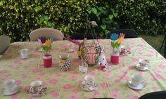 Alice in Wonderland inspired tea party for Domonique's 9th birthday