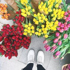 favorite flowers  by howimetmyoutfit