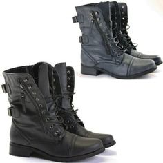 Combat style Military Boots £17.95