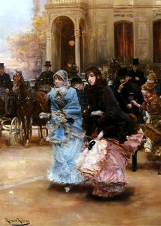 Going to the Ball by Roman Ribera Cirera