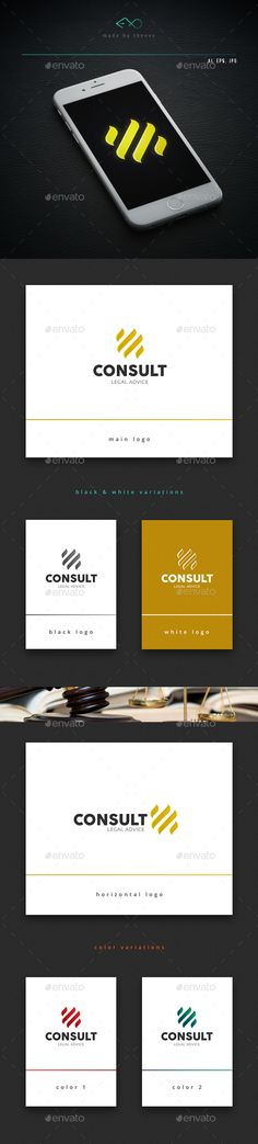 Consult Logo Design Template Vector #logotype Download it here: http://graphicriver.net/item/consult/14263422?s_rank=230?ref=nesto