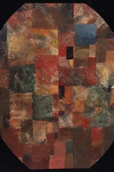 Paul Klee  'Homage to Picasso'  1914  Oil on cardboard  38 x 30 cm