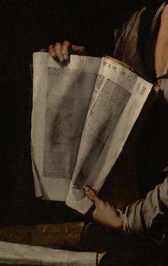 ".:. ''Euclid"" (detail), c.1635, Jusepe de Ribera."