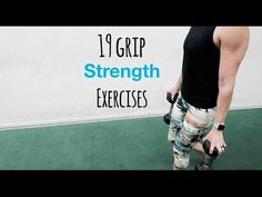 19 Grip Strength Exercises for Grip Strength Training - Fitness and Exercises Hand Grip Exercises, Grip Strength Exercises, Strength Training Workouts, Flexibility Workout, Training Exercises, Workout Exercises, Workout Videos, Training Fitness, Race Training