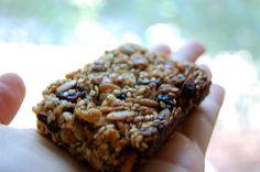 Runner's granola bar