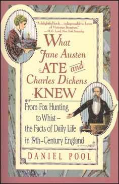 What Jane Austen Ate & Charles Dickens Knew | Main photo (Cover)