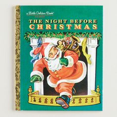 The Night Before Christmas, a Little Golden Book