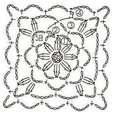Tığ işi motif örnekleri ve Şemaları http://www.canimanne.com/tig-isi-motif-ornekleri-2.html