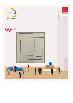 Trio Of Blue 2015, monotype, 76x86cm, Rebecca Hossack Gallery (contact info@rebeccahossack.com for details)