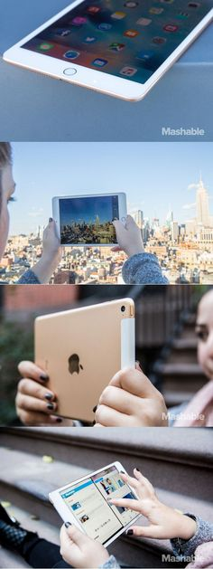 The iPad mini 4 is thin, powerful and multitasks just like the iPad Air 2