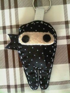 This is a cute ninja craft