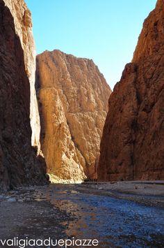 Il canyon delle Gole del Todra, Marocco