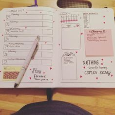 """Done with next weeks spread! #bulletjournal #bulletjournaling #bujo #journaling #weekly #weeklyspread #planner #bulletjournaljunkies"""